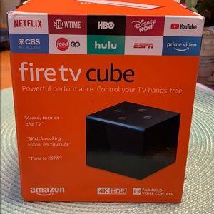 Brand new fire tv cube